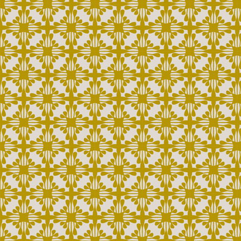 STELLA_MUSTARD fabric by glorydaze on Spoonflower - custom fabric