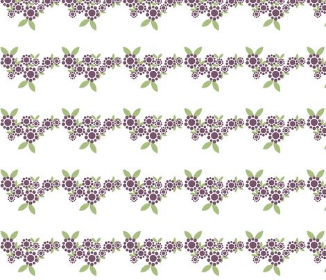 Polka Dot Daisy Wave fabric by sage_quinn on Spoonflower - custom fabric