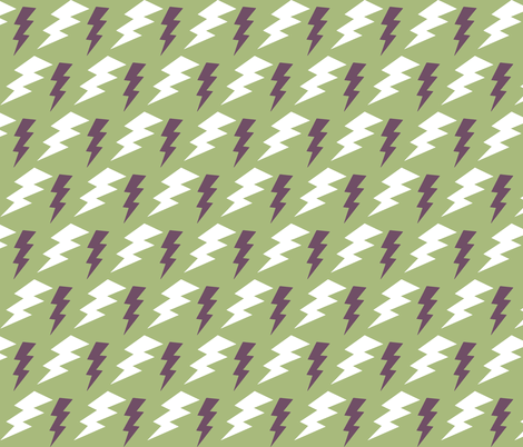 CYCLONE BOLTS fabric by bluevelvet on Spoonflower - custom fabric