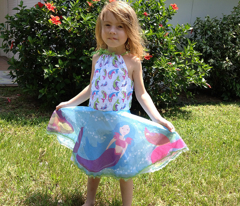 Mermaid Circle Skirt