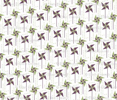 Pine & Plum Pinwheel