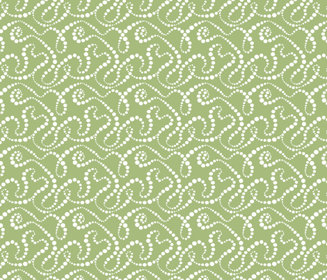 SmokeOverGrass_4inch fabric by tallulahdahling on Spoonflower - custom fabric