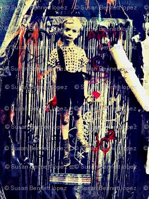 Diane Arbus Graffiti Boy