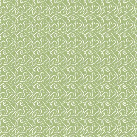 Smoke Over Grass_tiny fabric by tallulahdahling on Spoonflower - custom fabric