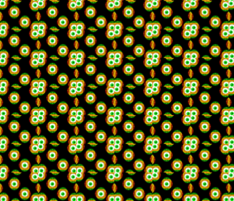 Eyes fabric by ogsnart on Spoonflower - custom fabric