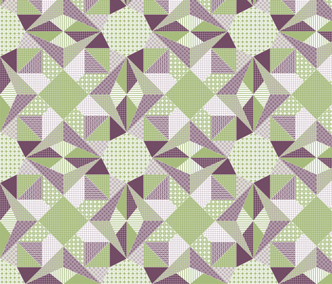 In the Limelight. fabric by rhondadesigns on Spoonflower - custom fabric
