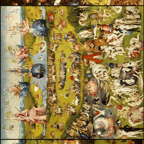 The Garden of Earthly Delights (Hieronymus Bosh, 1510) - vertical