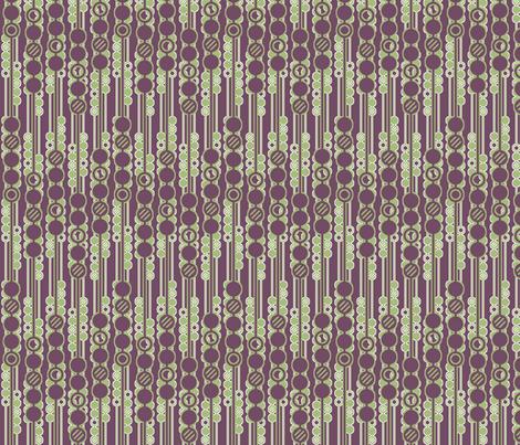 Geometric Bubbles fabric by leighr on Spoonflower - custom fabric