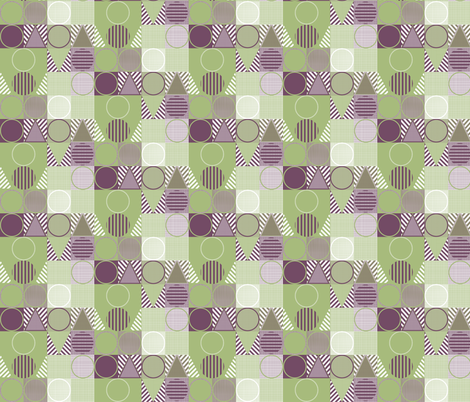 Geometric Design 2 fabric by maplewooddesignstudio on Spoonflower - custom fabric