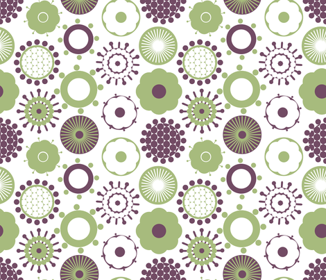 Funky geometrics fabric by jlwillustration on Spoonflower - custom fabric