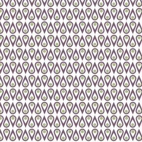 Mod Geometric Teardrops