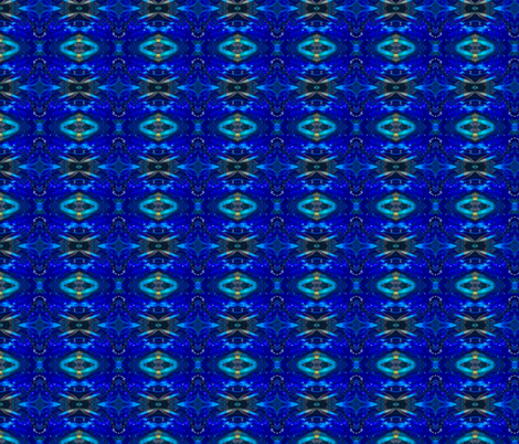 Blue Glass fabric by arttreedesigns on Spoonflower - custom fabric