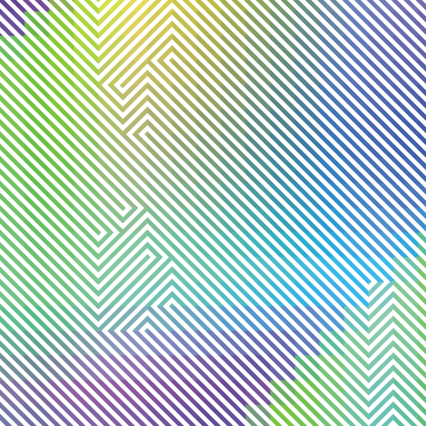 Rainbow Enigma 7 fabric by animotaxis on Spoonflower - custom fabric