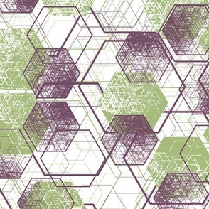 a million hexagons