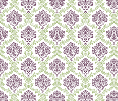 mosaic geometric damask fabric by meredithjean on Spoonflower - custom fabric