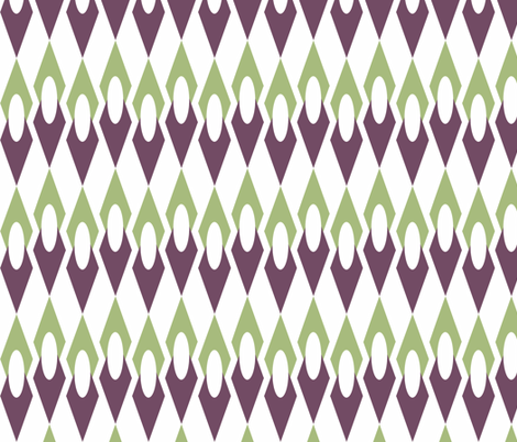 Geo Gem fabric by holly_helgeson on Spoonflower - custom fabric