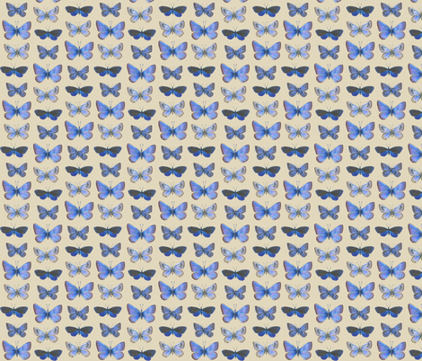 small blues fabric by weavingmajor on Spoonflower - custom fabric