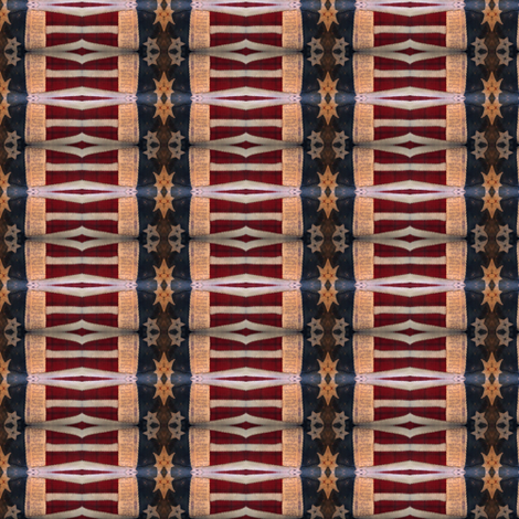 Star Spangled ©LLausen fabric by woolyredrug on Spoonflower - custom fabric
