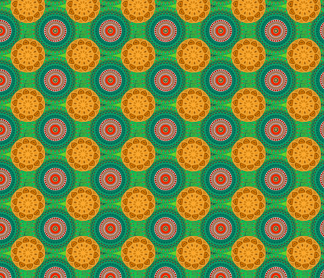 tomato_and_squash fabric by elarnia on Spoonflower - custom fabric