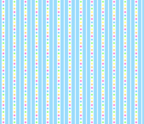 Sprinkle Stripe Blue fabric by modgeek on Spoonflower - custom fabric