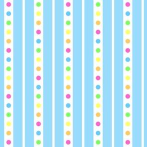 Sprinkle Stripe Blue