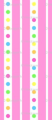 Sprinkle Stripe Pink