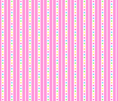 Sprinkle Stripe Pink fabric by modgeek on Spoonflower - custom fabric