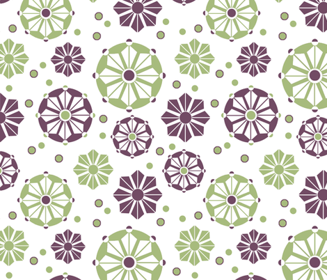 Geo Star fabric by holly_helgeson on Spoonflower - custom fabric