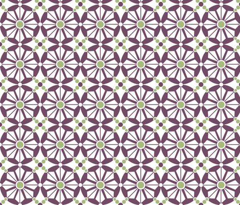 Geo Tile fabric by holly_helgeson on Spoonflower - custom fabric