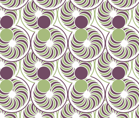 Dizzy  fabric by holly_helgeson on Spoonflower - custom fabric