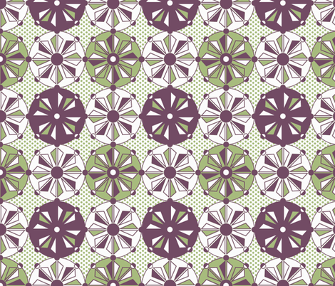 Geo Dots fabric by holly_helgeson on Spoonflower - custom fabric