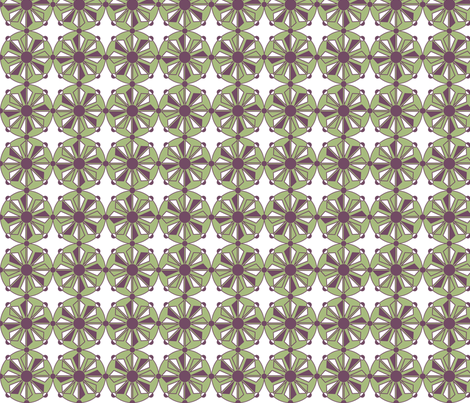 Geo Green fabric by holly_helgeson on Spoonflower - custom fabric