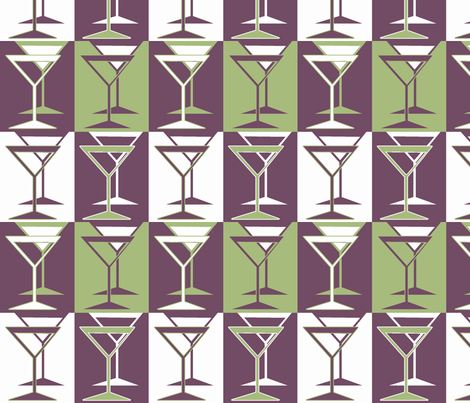 Martini Lounge, palette restricted fabric by holly_helgeson on Spoonflower - custom fabric