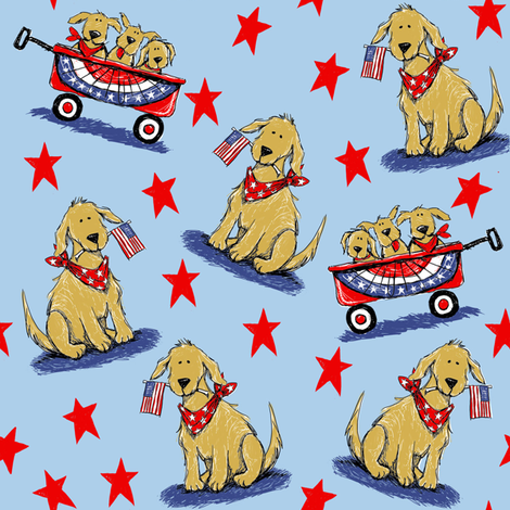 Buddy fabric by bzbdesigner on Spoonflower - custom fabric