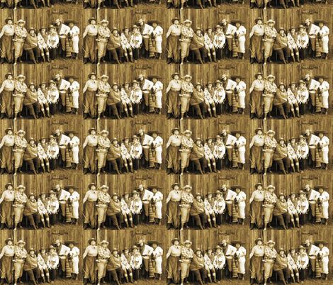 Women Of The Wild West fabric by fayebeasintx on Spoonflower - custom fabric