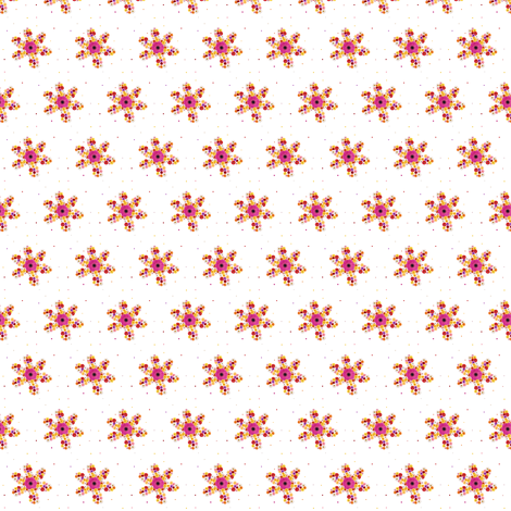 Small Flowers fabric by arttreedesigns on Spoonflower - custom fabric