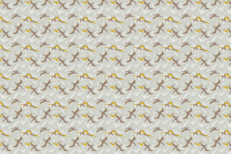 pterodactyls fabric by ebygomm on Spoonflower - custom fabric