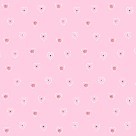 Little Hearts fabric by arttreedesigns on Spoonflower - custom fabric