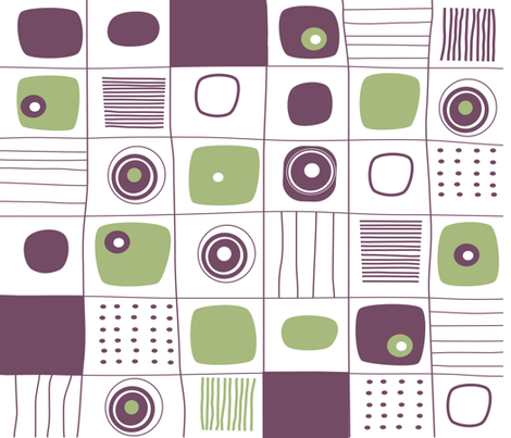 GEO GRID 03 fabric by deeniespoonflower on Spoonflower - custom fabric