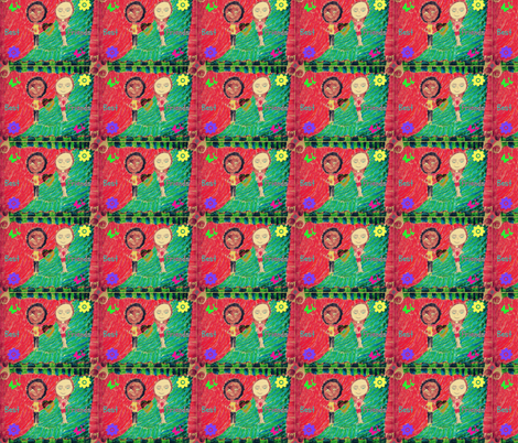 Safiya + 1 fabric by jmsiame on Spoonflower - custom fabric