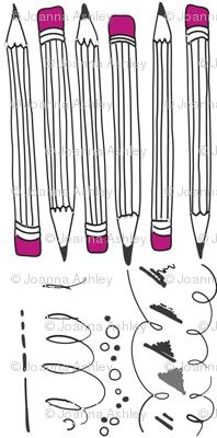 Pink Pencils