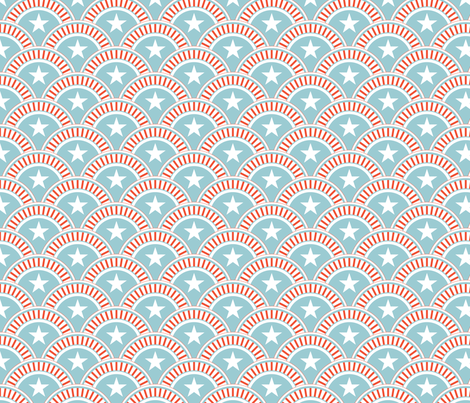 patriotic fabric by einekleinedesignstudio on Spoonflower - custom fabric