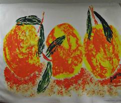 Peaches Three Large Scale Basic Repeat