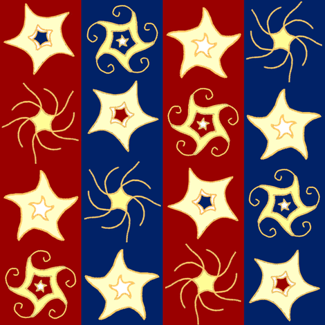 Embroidered_swirly_and_twirly_stars_and_stripes_A1