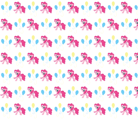 pinkie_pie_time fabric by amyawesome on Spoonflower - custom fabric