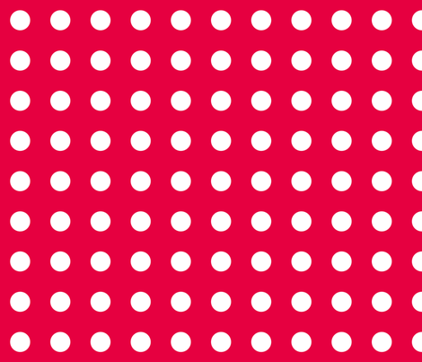 Red Pepper Dots fabric by evenspor on Spoonflower - custom fabric