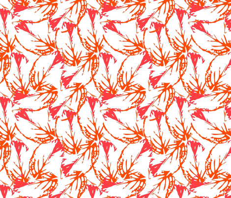 leaf_pattern3-01 fabric by sofiedesigns on Spoonflower - custom fabric