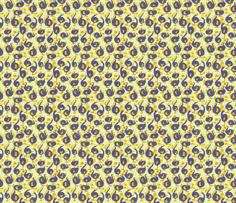 Dodo Bird Pattern fabric by kelly_leigh on Spoonflower - custom fabric