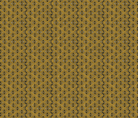 Gold and Black diamond print early style  fabric by robin006 on Spoonflower - custom fabric