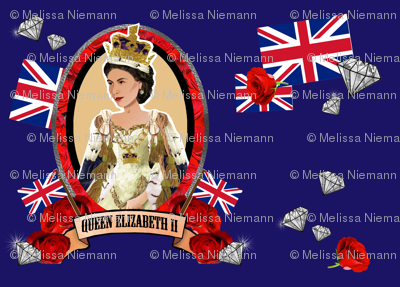 Diamond Jubilee in Blue
